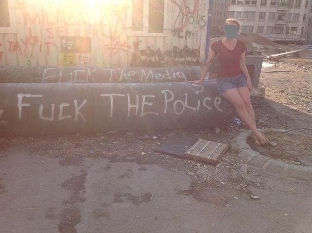 Agent L in Gezi Park