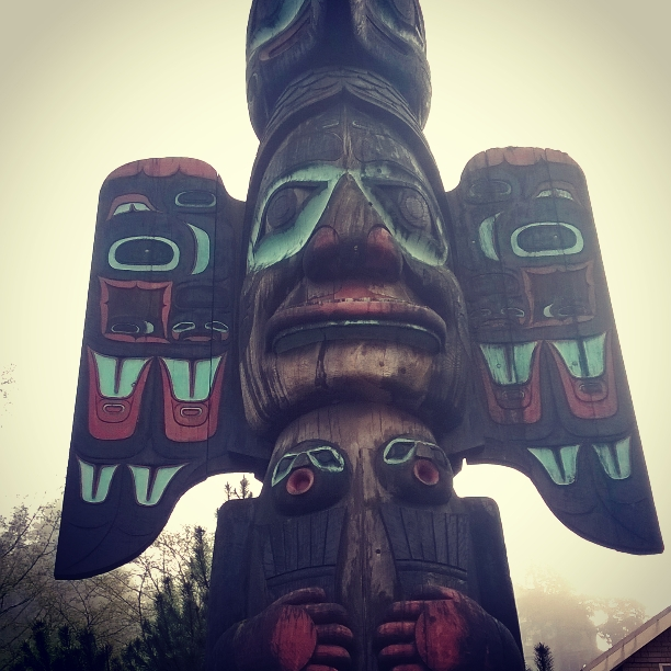 Ketchikan houses the largest collection of totem poles.